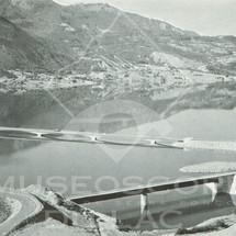 Vue sur le pont de Savines - Au premier plan, pont sur le Réallon